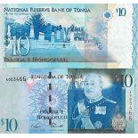 Biglietto di banca raccolta Tonga - PK N° 40 - 10 Pa'anga