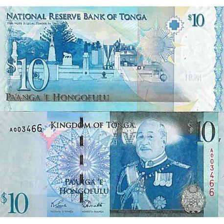 Billets de collection Billet de banque collection Tonga - PK N° 40 - 10 Pa'anga Billets du Tonga 24,00 €