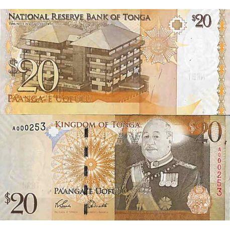 Billets de collection Billet de banque collection Tonga - PK N° 35 - 20 Pa'anga Billets du Tonga 61,00 €