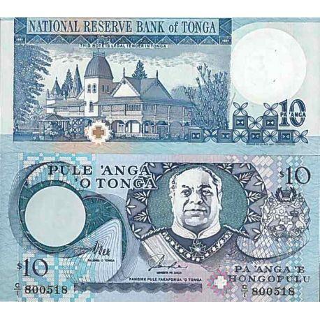 Billets de collection Billet de banque collection Tonga - PK N° 34 - 10 Pa'anga Billets du Tonga 29,00 €
