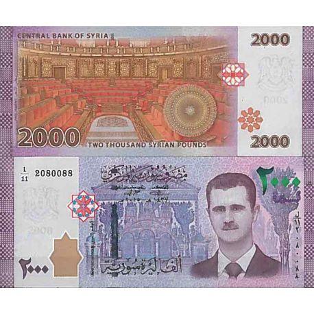 Billets de collection Billet de banque collection Syrie - PK N° 117 - 2 000 Pounds Billets de Syrie 16,00 €