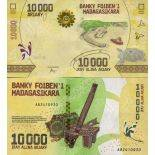 Banknote Sammlung Madagaskar - PK Nr. 103 - 10.000 Francs