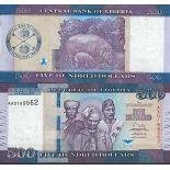 Biglietto di banca raccolta Liberia - PK N° 36 - 500 dollari