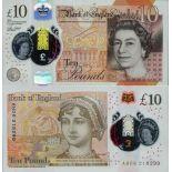 Billete de banco colección Gran Bretaña - PK N° 395 - 10 Pound