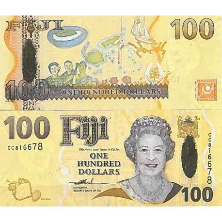 Billets de collection Billet de banque collection Fidji - PK N° 114 - 100 Dollars Billets des Fidji 120,00 €