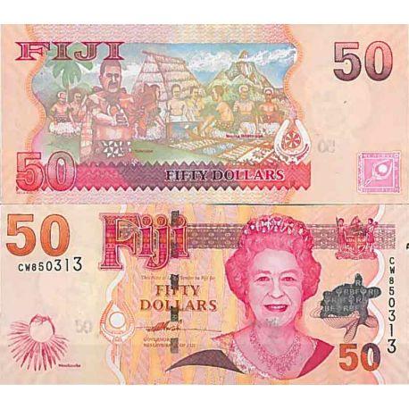 Billets de collection Billet de banque collection Fidji - PK N° 113 - 50 Dollars Billets des Fidji 68,00 €