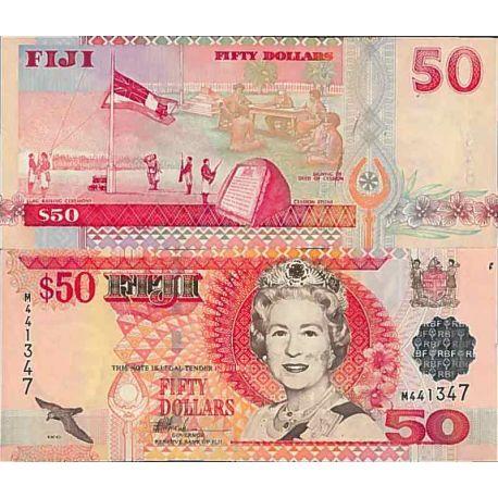 Billets de collection Billet de banque collection Fidji - PK N° 108 - 50 Dollars Billets des Fidji 73,00 €