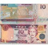 Banknote Sammlung Fidgi - PK Nr. 106 - 10 Dollar