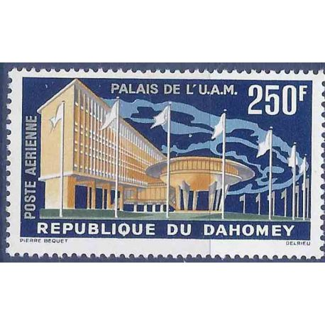 Francobollo raccolta Dahomey N° Yvert e Tellier PA 22 nove senza cerniera