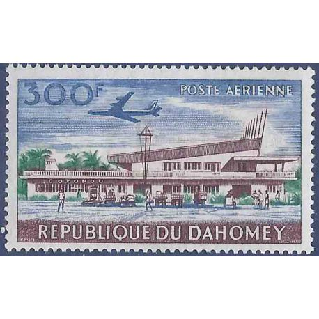 Francobollo raccolta Dahomey N° Yvert e Tellier PA 26 nove senza cerniera