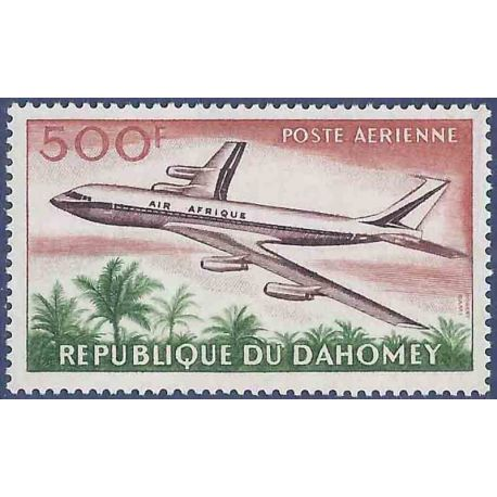 Francobollo raccolta Dahomey N° Yvert e Tellier PA 27 nove senza cerniera
