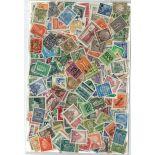 Briefmarkenensammlung Deutschland 1872/1932: Gestempeltes Briefmarkenenlos