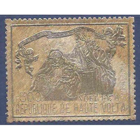 Sello colección Alto Volta N° Yvert y Tellier PA 88 Nueve sin bisagra
