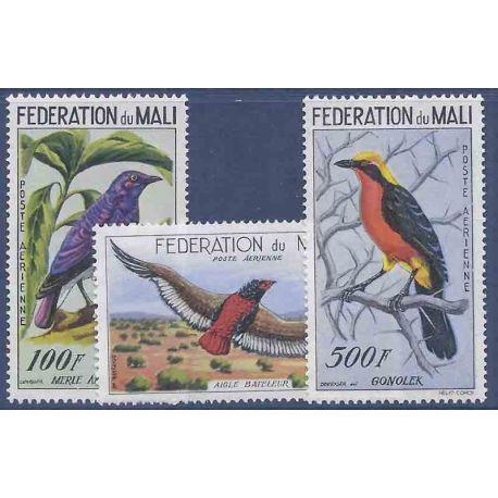 Stempel Sammlung Mali N° Yvert und Tellier PA 2/4 neun ohne Scharnier