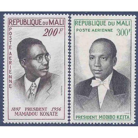 Stempel Sammlung Mali N° Yvert und Tellier PA 93/10 neun ohne Scharnier