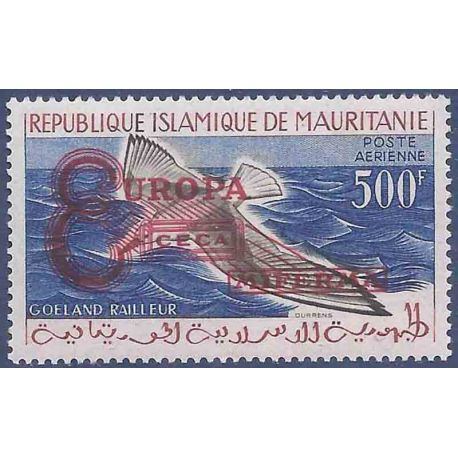 Timbre collection Mauritanie N° Yvert et Tellier PA 20F Neuf sans charnière