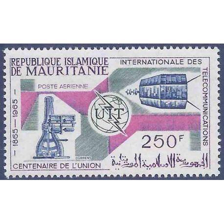Stempel Sammlung Mauretanien N° Yvert und Tellier PA 45 neun ohne Scharnier