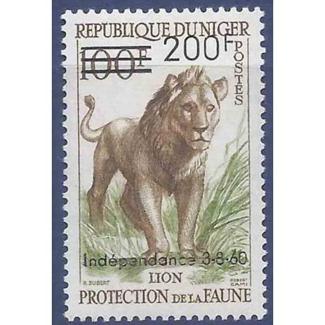 Timbre collection Niger N° Yvert et Tellier 111 Neuf sans charnière
