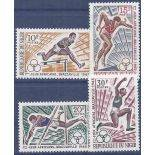 Stamp collection Niger N° Yvert and Tellier 165/168 Nine without hinge