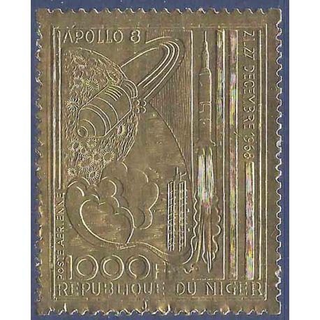 Stempel Sammlung Niger N° Yvert und Tellier PA 111 neun ohne Scharnier