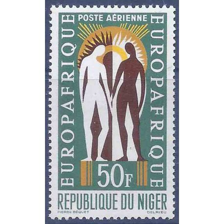 Stempel Sammlung Niger N° Yvert und Tellier PA 30 neun ohne Scharnier