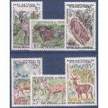 Stempel Sammlung Senegal N° Yvert und Tellier 198/203 neun ohne Scharnier