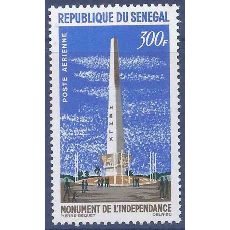 Sello colección Senegal N° Yvert y Tellier PA 40 Nueve sin bisagra