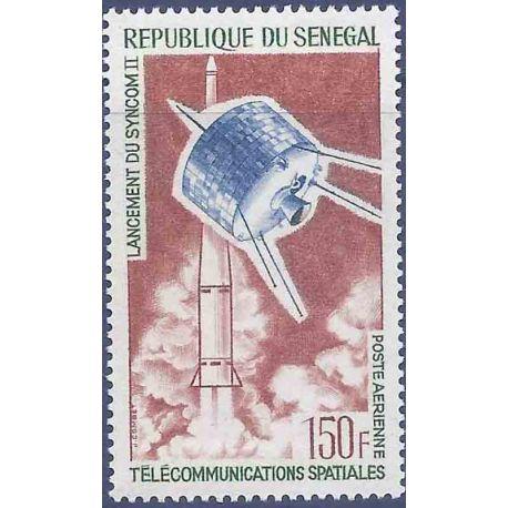 Sello colección Senegal N° Yvert y Tellier PA 45 Nueve sin bisagra