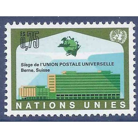 Briefmarkensammlung UNO Genf N° Yvert und Tellier 18 neun ohne Scharnier