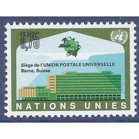Francobollo raccolta ONU Ginevra N° Yvert e Tellier 18 nove senza cerniera