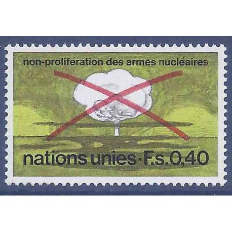 Briefmarkensammlung UNO Genf N° Yvert und Tellier 23 neun ohne Scharnier