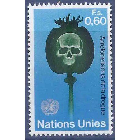 Timbre collection ONU Genève N° Yvert et Tellier 32 Neuf sans charnière