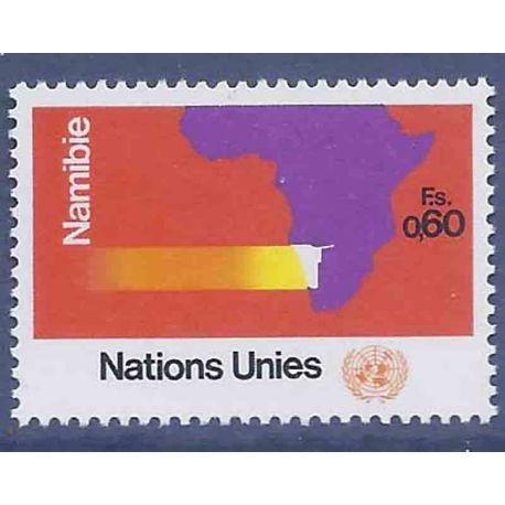 Briefmarkensammlung UNO Genf N° Yvert und Tellier 34 neun ohne Scharnier