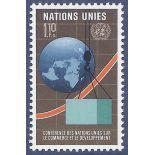 Francobollo raccolta ONU Ginevra N° Yvert e Tellier 57 nove senza cerniera