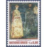 Briefmarkensammlung UNO Genf N° Yvert und Tellier 99 neun ohne Scharnier