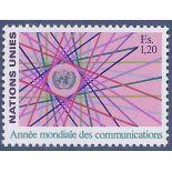 Timbre collection ONU Genève N° Yvert et Tellier 111 Neuf sans charnière