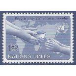 Briefmarkensammlung UNO Genf N° Yvert und Tellier 114 neun ohne Scharnier