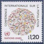Briefmarkensammlung UNO Genf N° Yvert und Tellier 119 neun ohne Scharnier