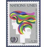Briefmarkensammlung UNO Genf N° Yvert und Tellier 126 neun ohne Scharnier