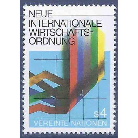 Briefmarkensammlung UNO Wien N° Yvert und Tellier 8 neun ohne Scharnier