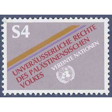 Francobollo raccolta ONU Vienna N° Yvert e Tellier 16 nove senza cerniera