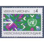 Francobollo raccolta ONU Vienna N° Yvert e Tellier 29 nove senza cerniera