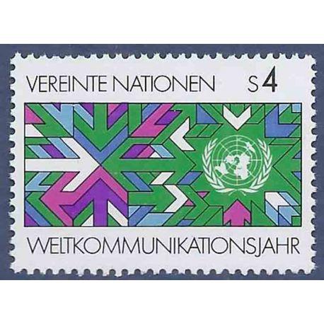 Timbre collection ONU Vienne N° Yvert et Tellier 29 Neuf sans charnière