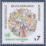 Francobollo raccolta ONU Vienna N° Yvert e Tellier 38 nove senza cerniera