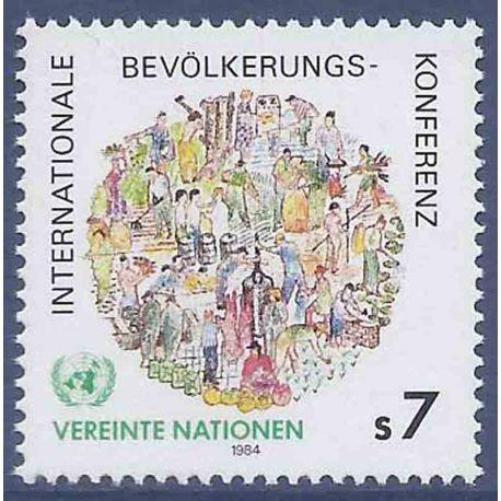 Timbre collection ONU Vienne N° Yvert et Tellier 38 Neuf sans charnière
