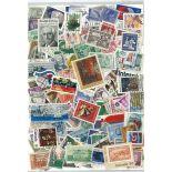 Sammlung gestempelter Briefmarken Nordamerika