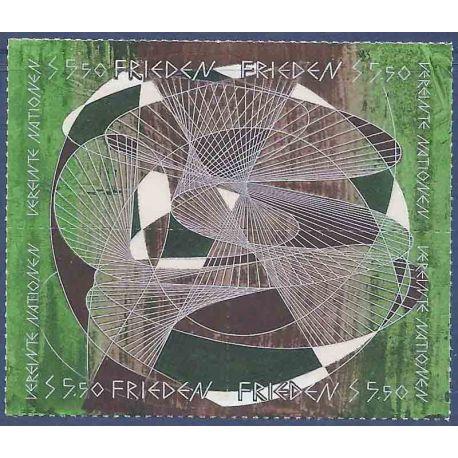 Briefmarkensammlung UNO Wien N° Yvert und Tellier 172/175 neun ohne Scharnier