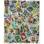 Colección de sellos Sudamérica usados