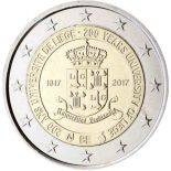 Belgique - 2 Euro 2017 Coincard - 200e anniversaire de l'université de Liège