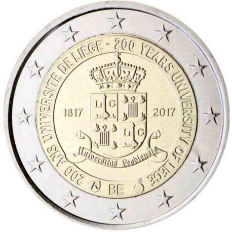 Belgique - 2 Euro 2017 Coincard - 200e anniversaire de l?université de Liège